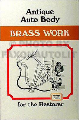 1906-1912 Antique Auto Body Brass Parts Book  ()