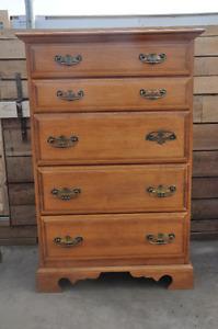 Roxton Furniture Maple Dresser