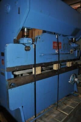 90 Ton Chicago Dreis Krump Mechanical Press Brake 36 G 24 Autogauge Backgau