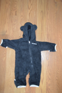 Columbia Fleece Bunting Suit - Size 0-3 Months