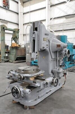 1943 Morey 12m Vertical Slotter Wired For 3 Phase 60 Hz 220 440 Volts