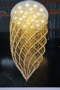 Lustres Cristal NEW  / Crystal Chandeliers K9 REAL CRYSTAL NEW