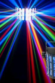 1 x Dmx Disco DJ Club Bar Derby LED Light - BNB