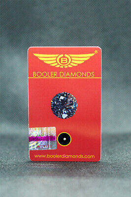 Real natural diamond 1,5 mm set in card with certificate