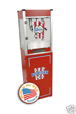 Home Theater Commercial Popcorn Machine Popper Cart Cineplex 4oz 11048003080800