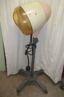 1930 Vintage Professional Industrial Movable Electric Hair Dryer