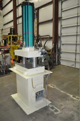 100 Ton Tox Pressotechnik Air Over Hydraulic Press 7.87 Stroke .94 Power Str
