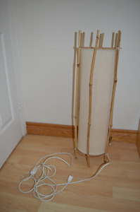Asian bamboo lamp