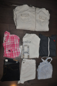 'Lot D' Abercrombie Girls (9 items)