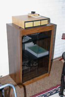 Stereo cabinet for sale.