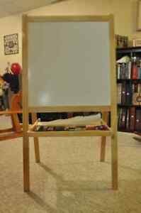 A child's multi-surface easel