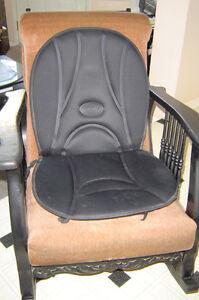 Chaise Bercante en chene   Antique, laqué noir  (de 1915 a 1920)