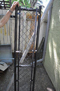 "Chain link gate (16"" x 72"") plus posts"
