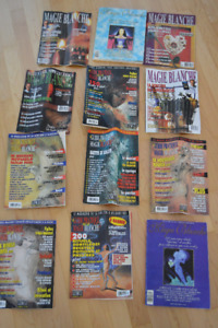 12 magazines of white magic. Value of around 50$!!! Only 12$!!