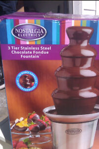 New Stainless Steel Chocolate Fountain