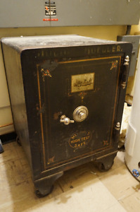 Beautiful old safe.