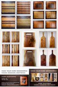 Make Your Mark Woodworks Cutting/Serving Boards