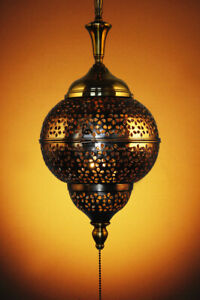 Custom Made Moroccan-style Pendant Fixture