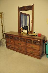 $150 or Best offer-Must be Sold- Dresser, Headboard, Night Table