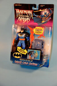 NEW Vintage 1998 Kenner KARATE CHOP BATMAN Action Figure Toy