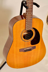 12 string seagull m12 acoustic guitar