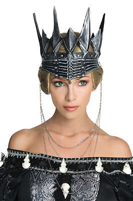 Queen Ravenna Crown (Evil Queen Ravenna Crown Costume Snow White & The Huntsman Gothic Black)
