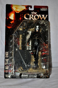 McFarlane Movie Maniacs 2 Eric Draven - THE CROW - 7 inch. New