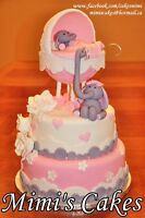 Reserve your custom baby shower cake today!