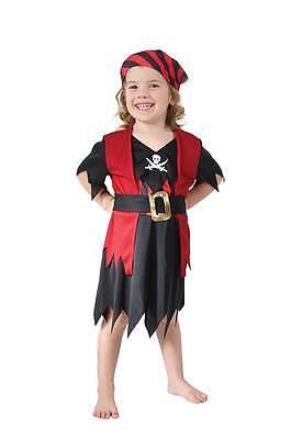 Piratenkostüm für Mädchen,Kleinkind,Kinder Kostüm Kostüm,Buch Woche,Alter - Piraten Kostüme Für Kleinkind Mädchen