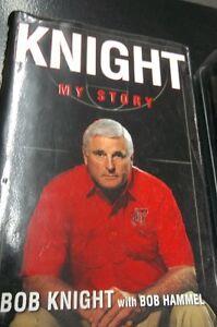 Bob Knight My Story- Indiana Basketball Coach like new