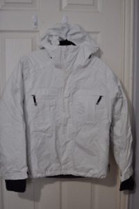 Bonfire Women's White Snowboard / Ski Jacket in Size Medium