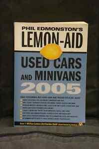 Phil Edmonston's Lemon-Aid Used Cars And Minivans