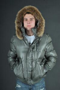 Manteau Mackage Diego Taille 40 couleur gris