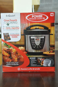 Brand New Power pressure cooker XL