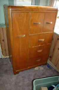 chest of drawers with wardrobe.