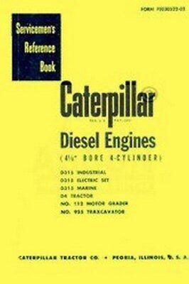 Caterpillar D4 D315 112 955 Engine Service Manual
