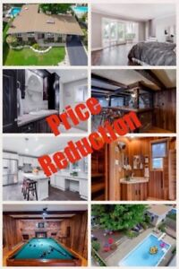 PRICE REDUCTION - BUNGALOW WITH SAUNA, POOL AND MORE