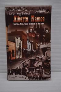 "Book - ""The Story Behind Alberta Names"""