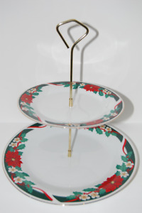 BRAND NEW 2-Tier Hors d'oeuvre Dessert Cake Serving Stand Rack