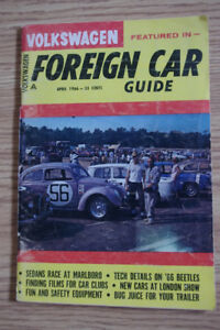 Foreign Car Guide featuring Volkswagen 1965 - 1968