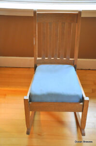 ARTS AND CRAFTS MISSION STYLE ROCKER