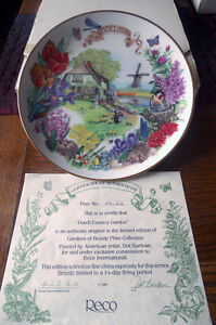 Gardens of Beauty Plate Collection (Reco)