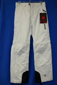 SPYDER  SKI pants WHITE color