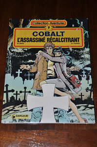 1981 AVENTURE BD COBALT NO.7 BANDE DESSINÉE VINTAGE COLLECTION