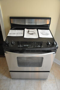 KitchenAid Electric Range  Stainless Steel ceramic glass cooktop