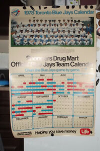Rare / Hard To Find Toronto Blue Jays Items - Calendars - $4 +