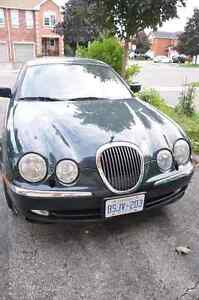 2001 Jaguar S-TYPE Green Sedan