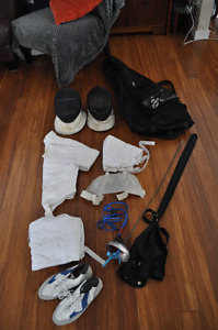 Kit complet d'escrime / Full fencing outfit