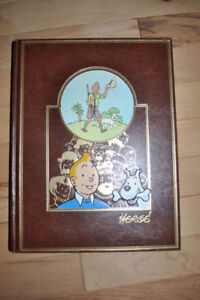 Album bd # 1 de la collection de luxe Tintin Casterman/Rombaldi