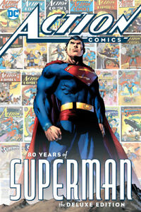 ACTION COMICS: 80 YEARS OF SUPERMAN (Hardcover 1st Printing)